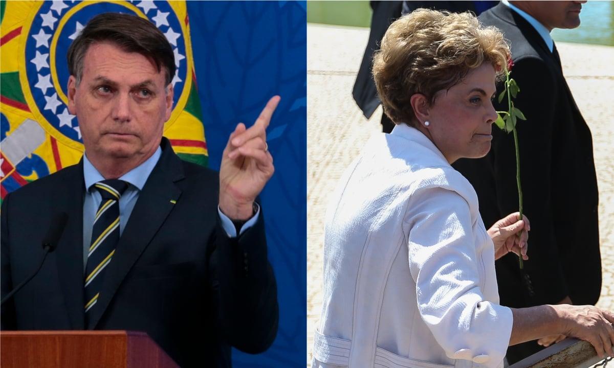 Bolsonaro e Dilma