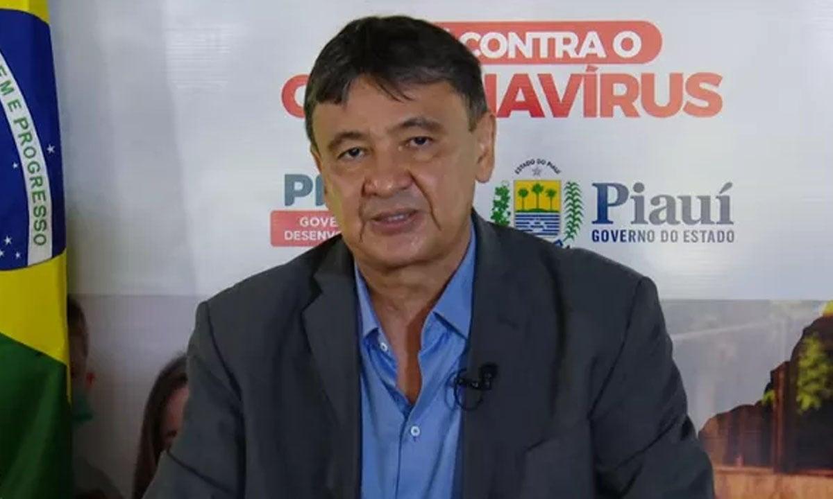 O GOVERNADOR do Piauí, WELLINGTON DIAS. FOTO: CCOM