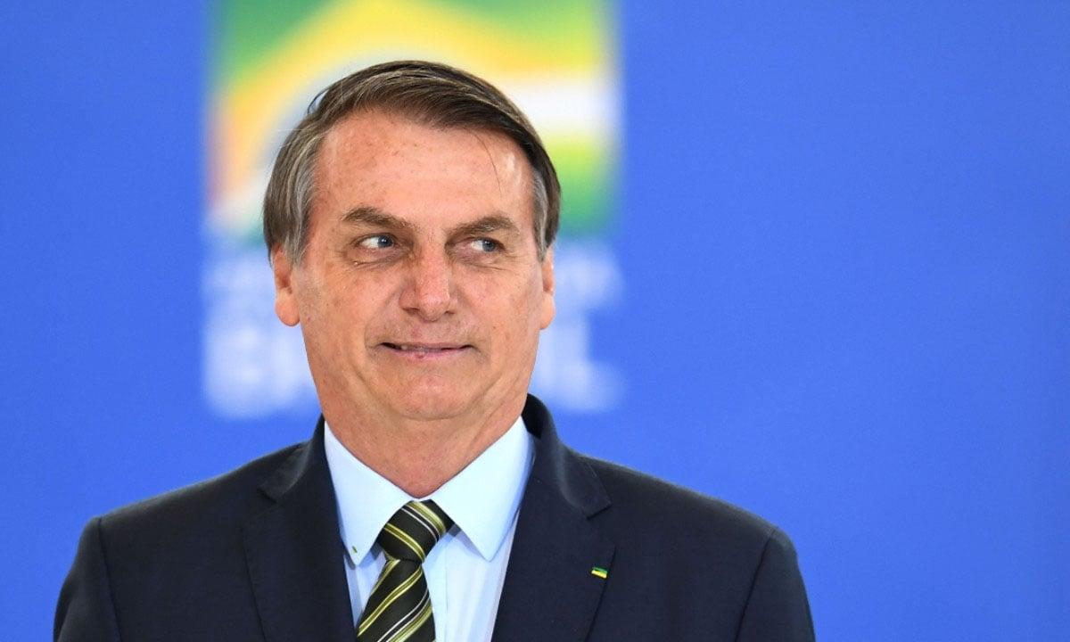 O PRESIDENTE JAIR BOLSONARO. FOTO: EVARISTO SA/AFP