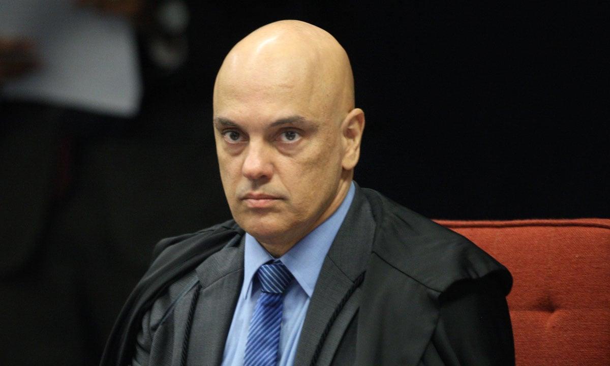 O MINISTRO ALEXANDRE DE MORAES, DO STF. FOTO: NELSON JR./STF