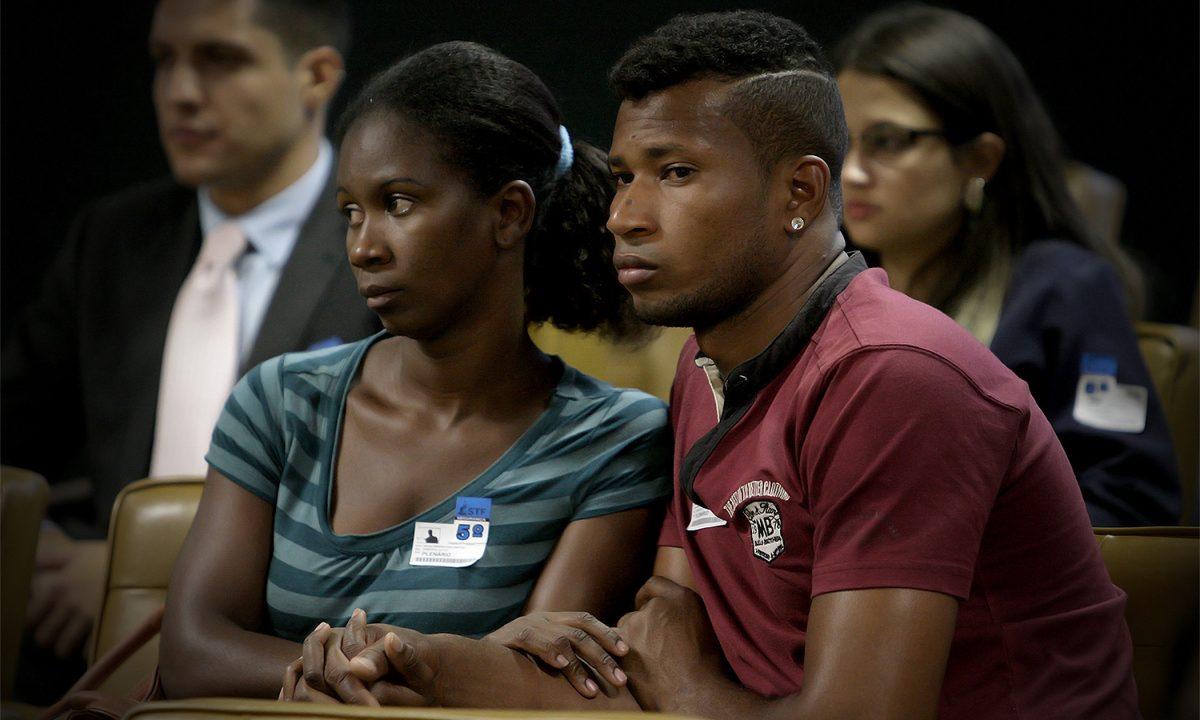 Representantes de comunidades Quilombolas no plenário do STF. Foto: Fellipe Sampaio/SCO/STF