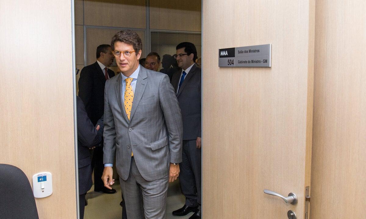 O ministro do Meio Ambiente, Ricardo Salles. Foto: Gilberto Soares/MMA