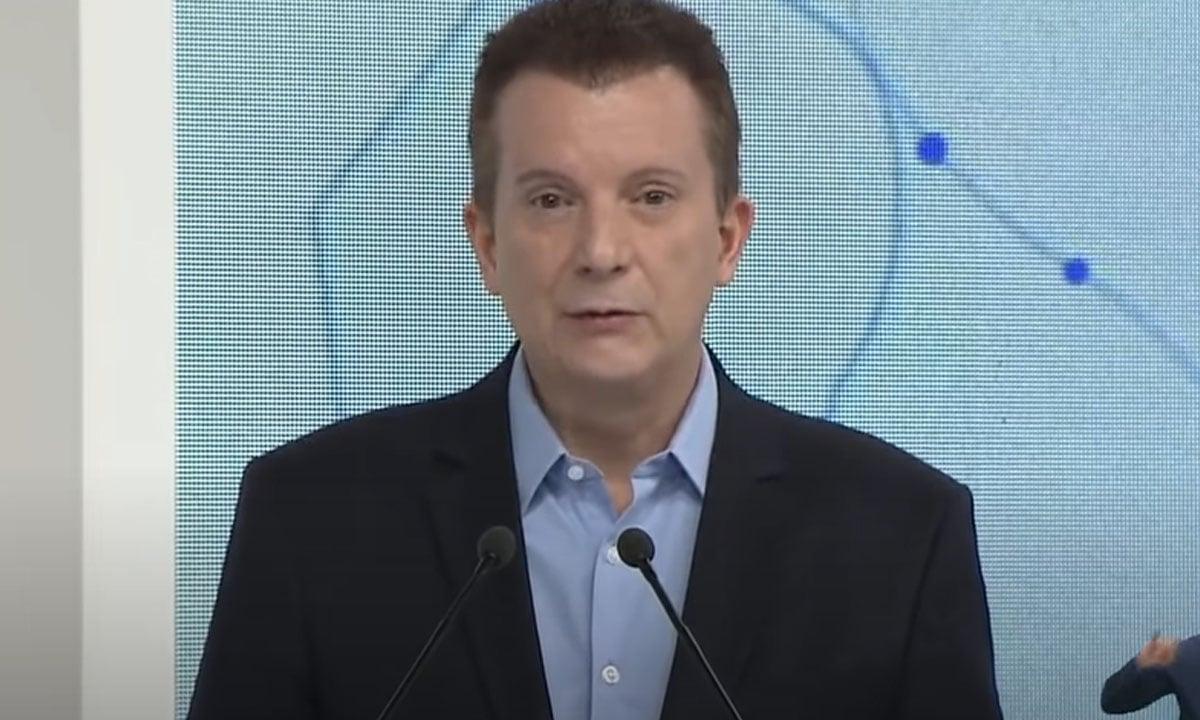 CELSO RUSSOMANO, CANDIDATO DO REPUBLICANOS À PREFEITURA DE SP. FOTO: REPRODUÇÃO/TV BAND