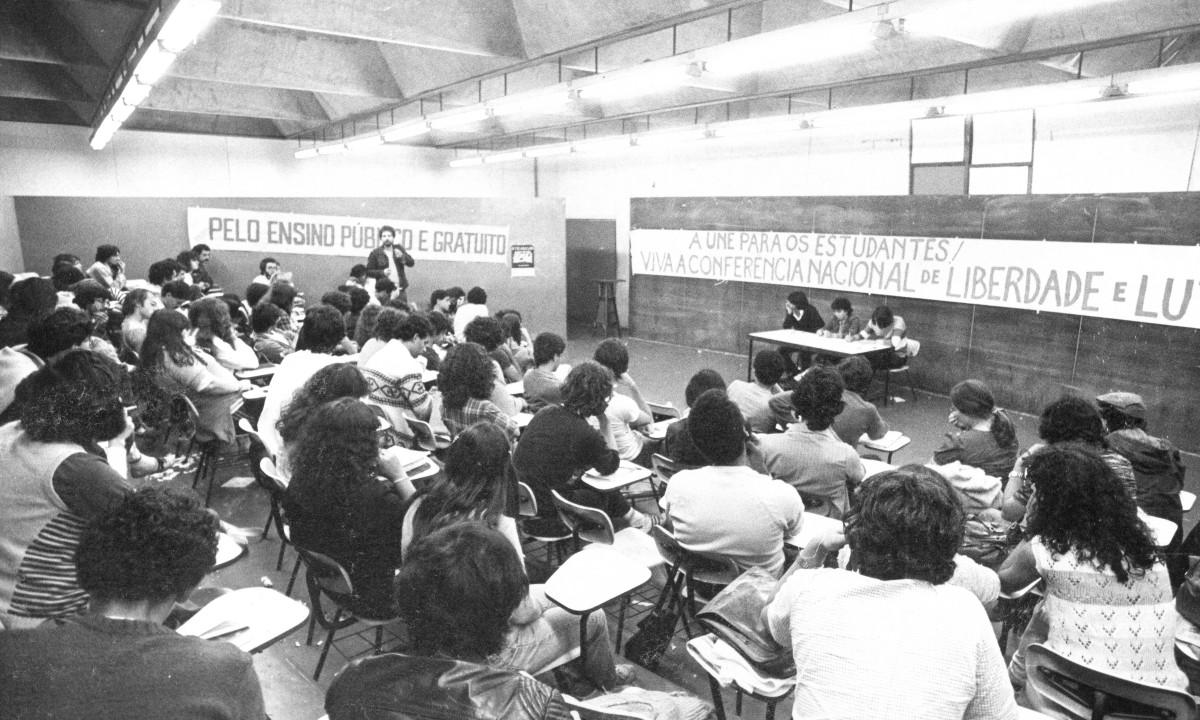 A Libelu foi decisiva na rearticulação da União Nacional dos Estudantes. Foto: Acervo