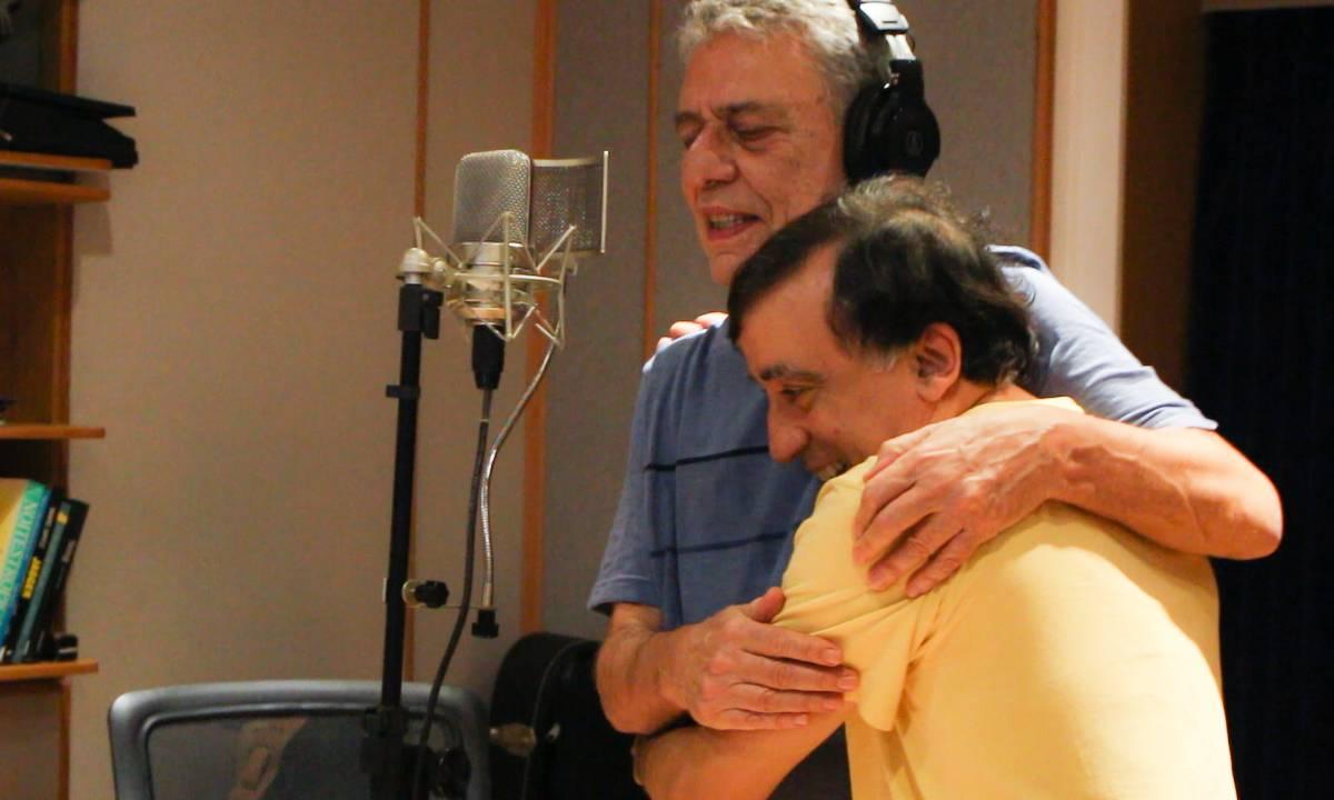 Jorge Helder com Chico Buarque
