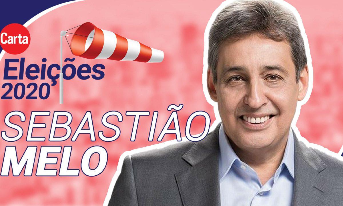 O candidato do MDB à Prefeitura de Porto Alegre, Sebastião Melo. Foto: Divulgação
