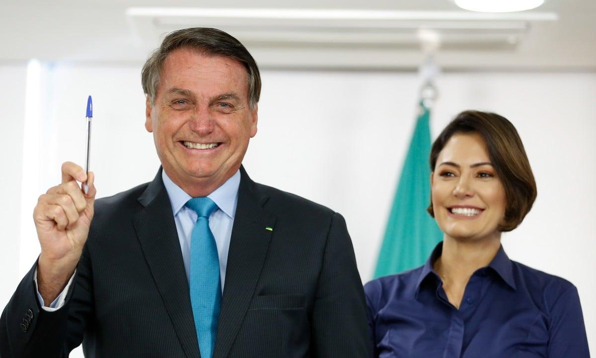 Bolsonaro e Michelle
