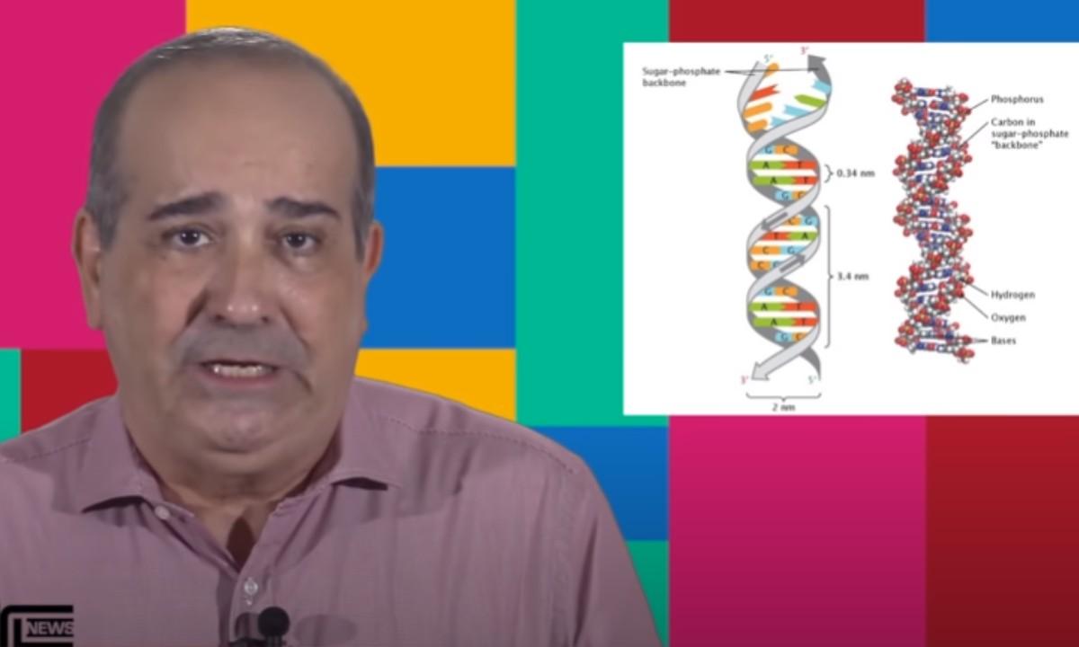 Youtuber Claudio Lessa, que criou vídeo com informações falsas sobre vacinas (Foto: Reprodução)