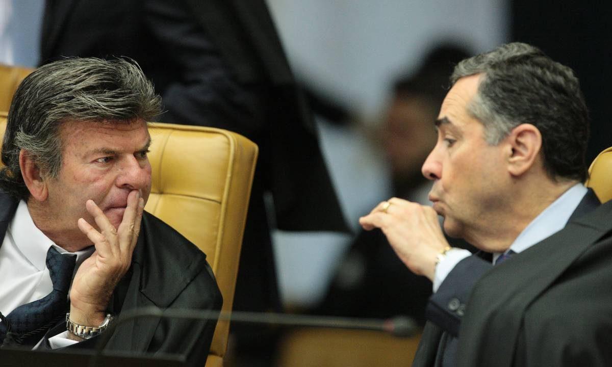 Luiz Fux e Roberto Barroso