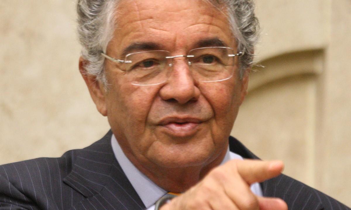 O Ministro Marco Aurélio Mello. Foto: Nelson Jr./SCO/STF