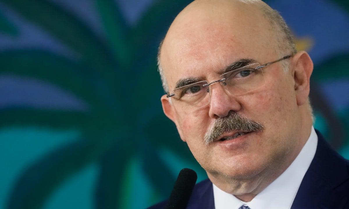Ministro da Educação, Milton Ribeiro (Foto: Isac Nóbrega/PR)