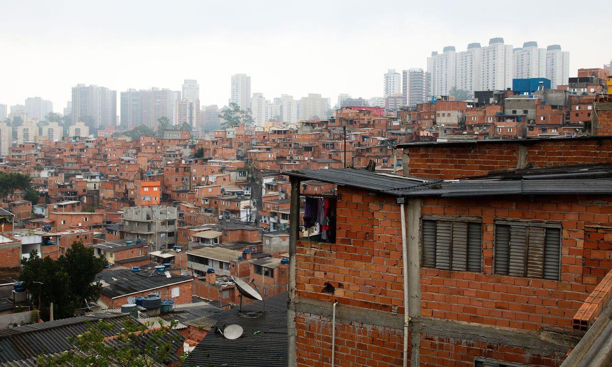 A comunidade de Paraisópolis, em São Paulo. Foto: Rovena Rosa/Agência Brasil