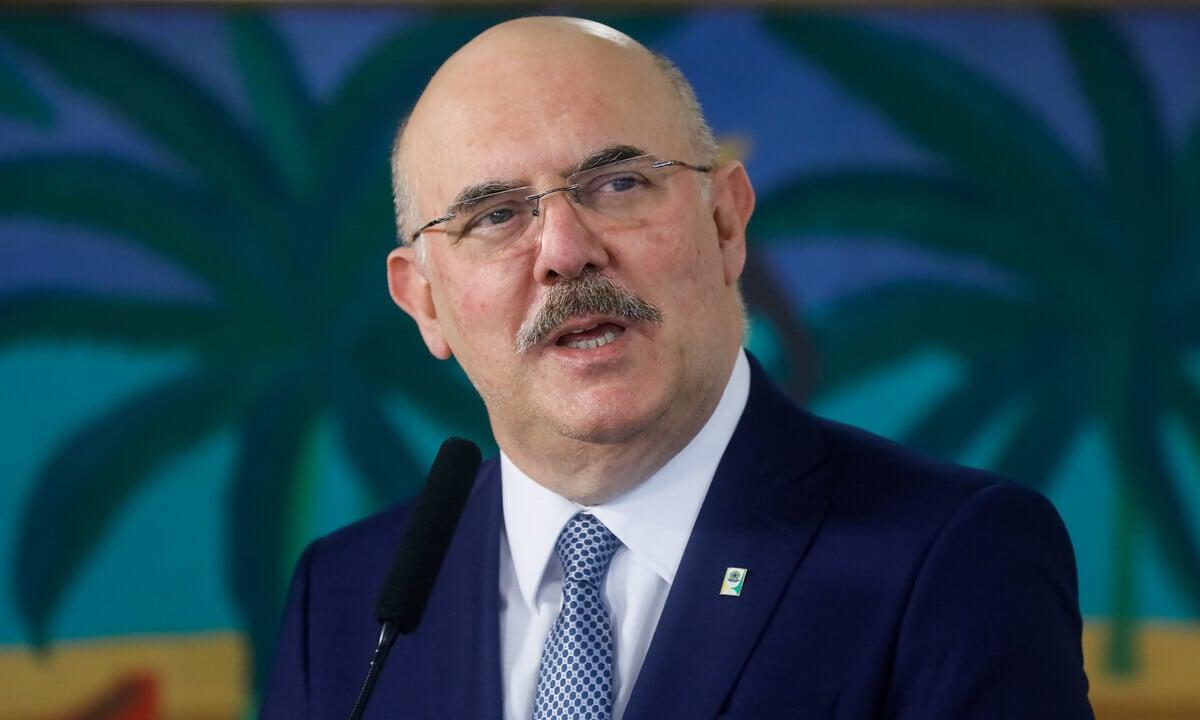 O ministro da Educação, Milton Ribeiro. Foto: Isac Nóbrega/PR