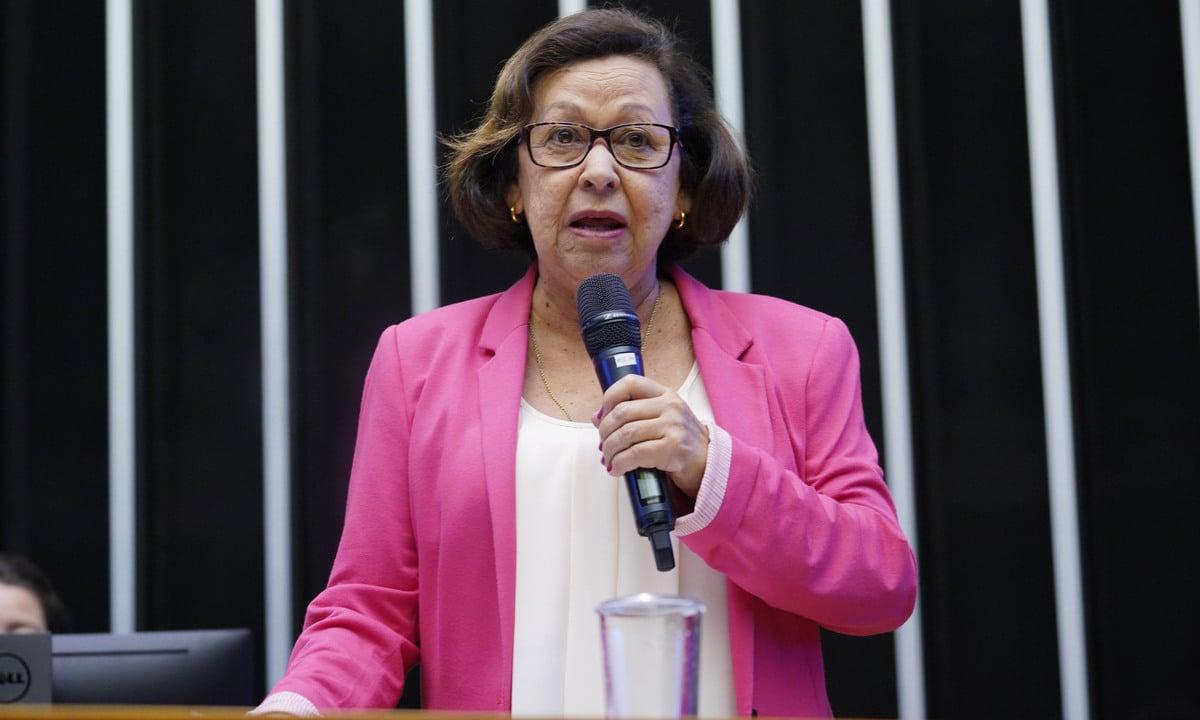 A deputada federal Lídice da Mata (PSB-BA). Foto: Pablo Valadares/Agência Câmara