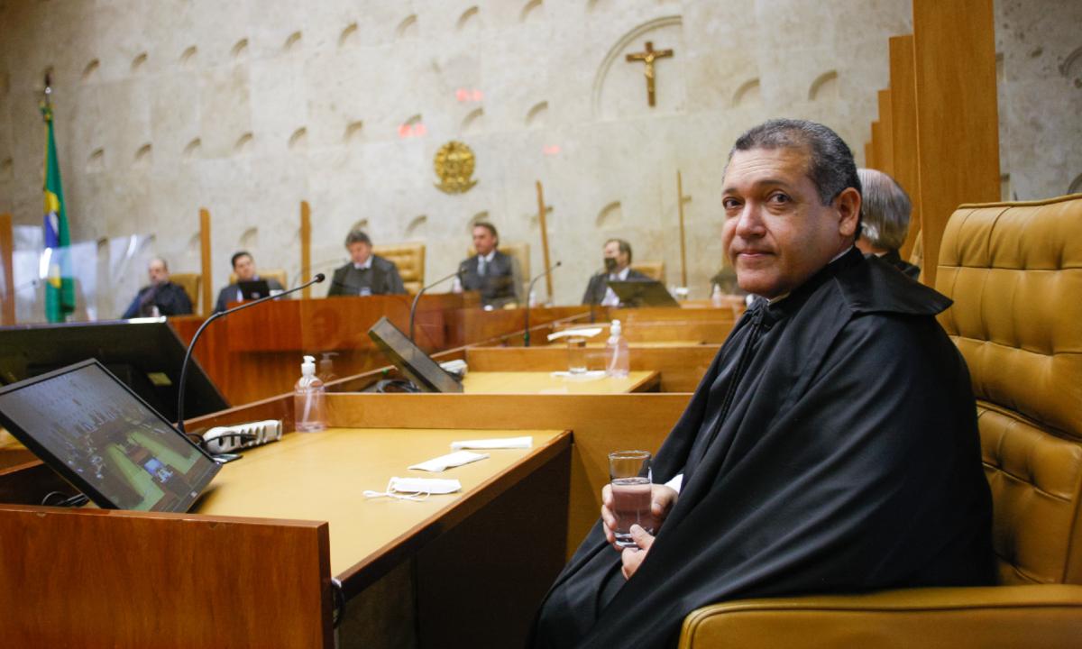Kassio Nunes vota contra a Lava Jato em estreia no STF. Foto: Fellipe Sampaio/ STF.