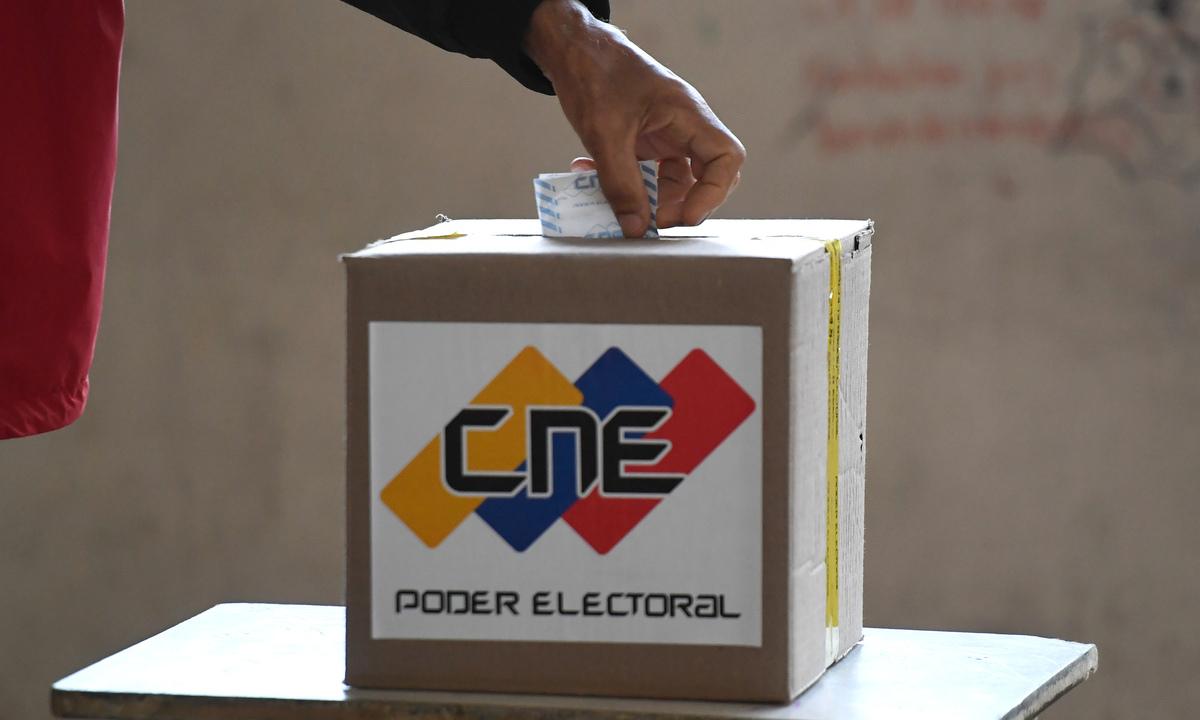 Venezuela realizou eleições legislativas em 6 de dezembro. Foto: Federico PARRA/AFP