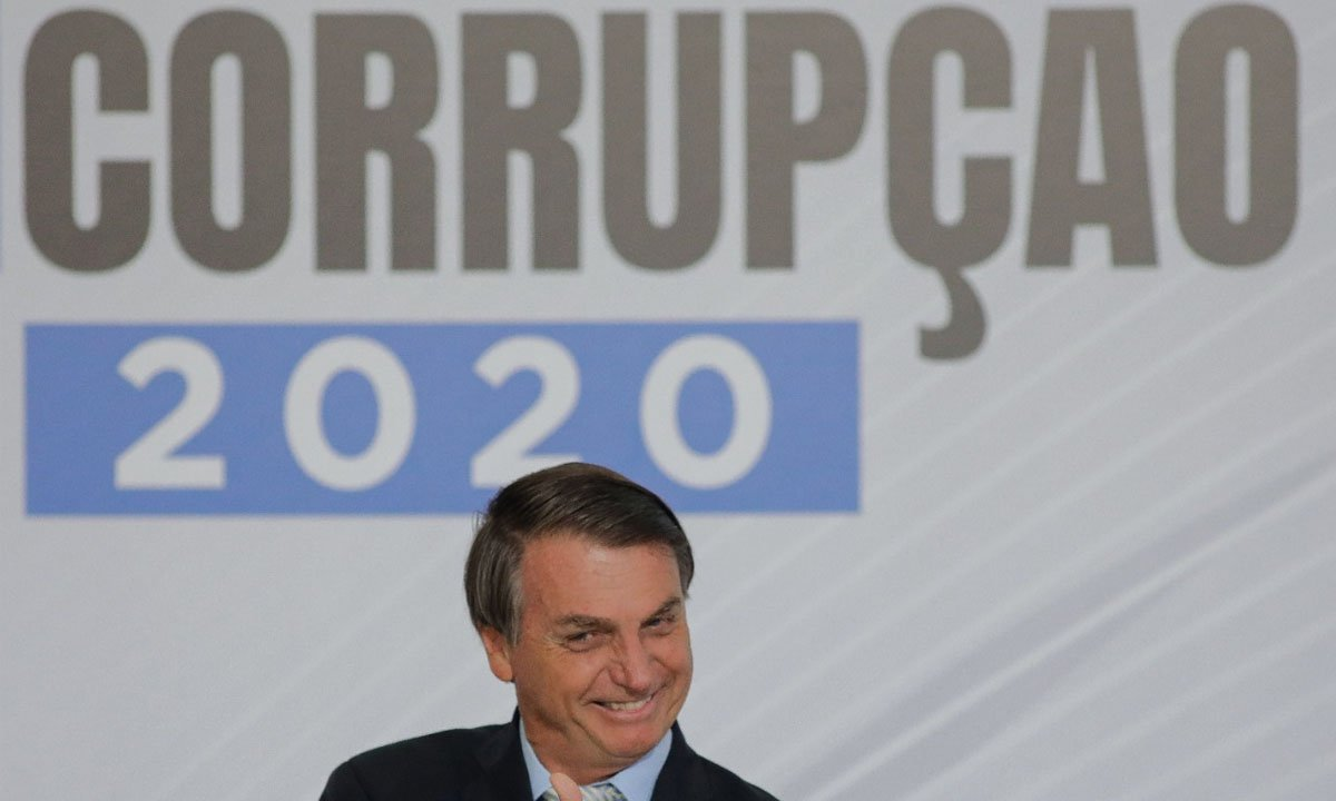 Presidente Jair Bolsonaro. Foto: Sergio Lima