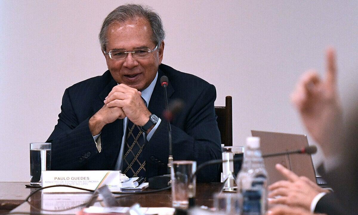 O ministro da Economia, Paulo Guedes Foto: Edu Andrade/Ascom/ME