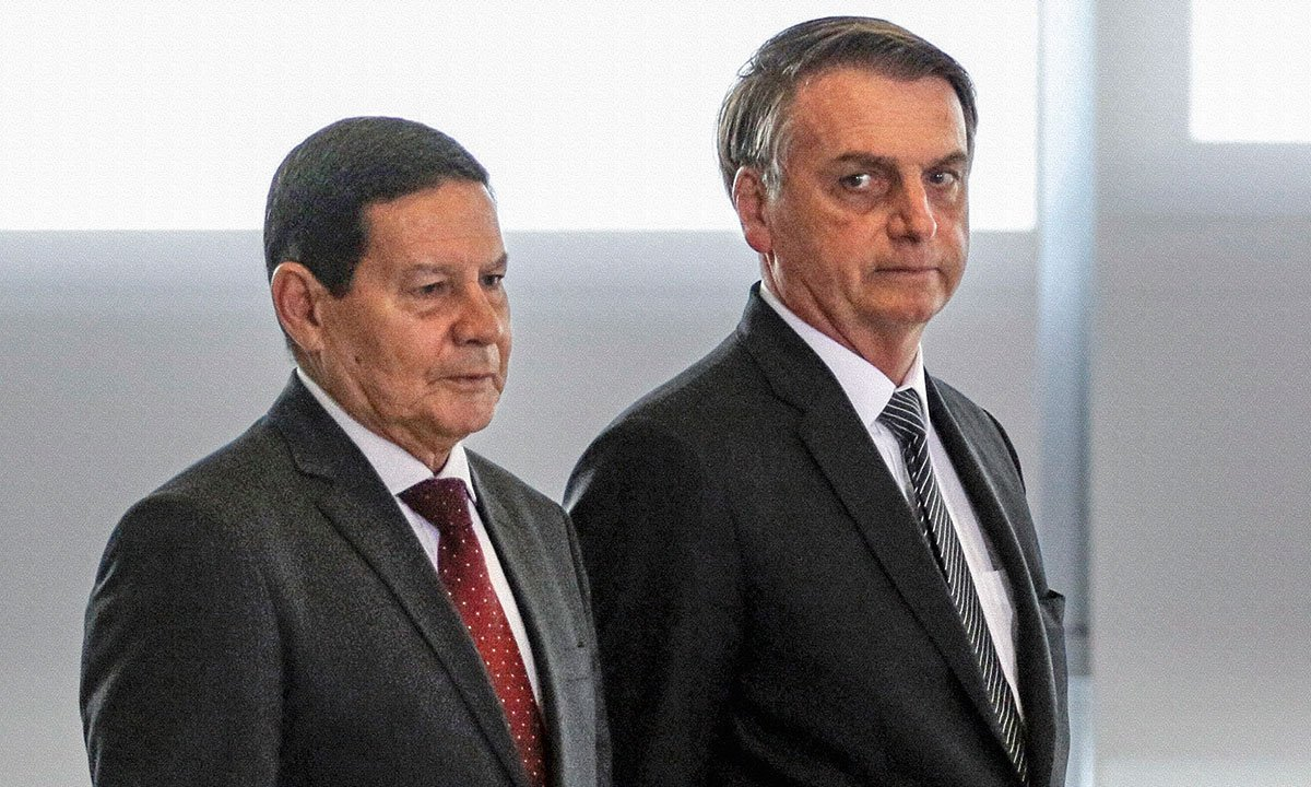 Hamilton Mourão e Jair Bolsonaro. Foto: Valter Campanato/Agência Brasil