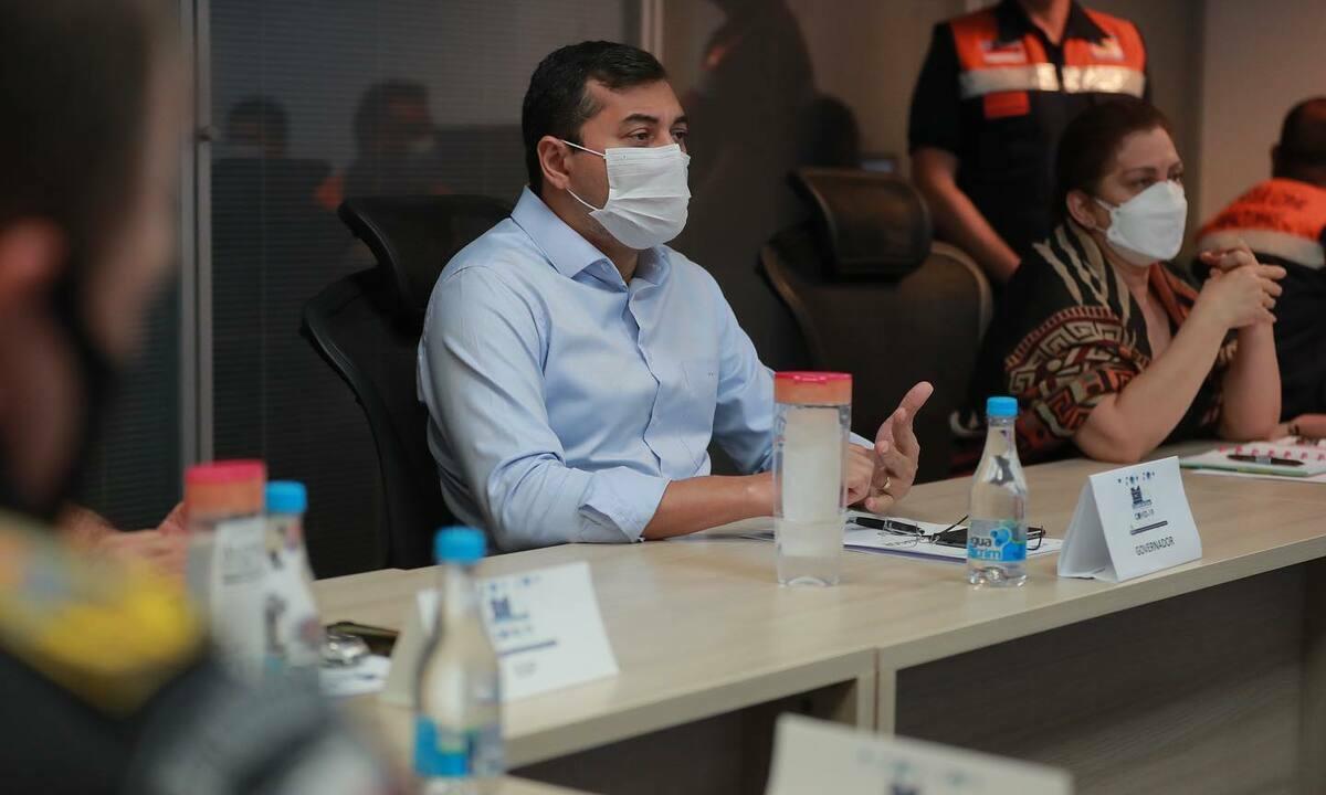 O governador do Amazonas, Wilson Lima (PSC). Foto: Reprodução/Facebook
