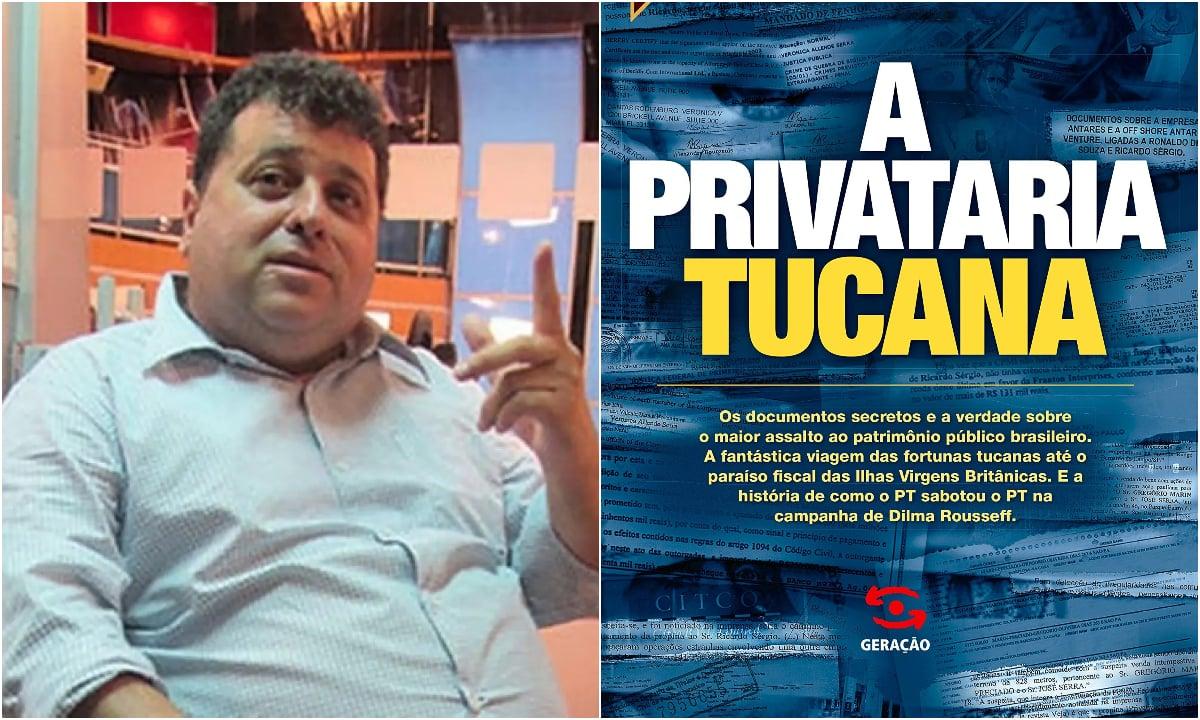 Jornalista autor de 'A Privataria Tucana' é condenado a 7 anos de prisão