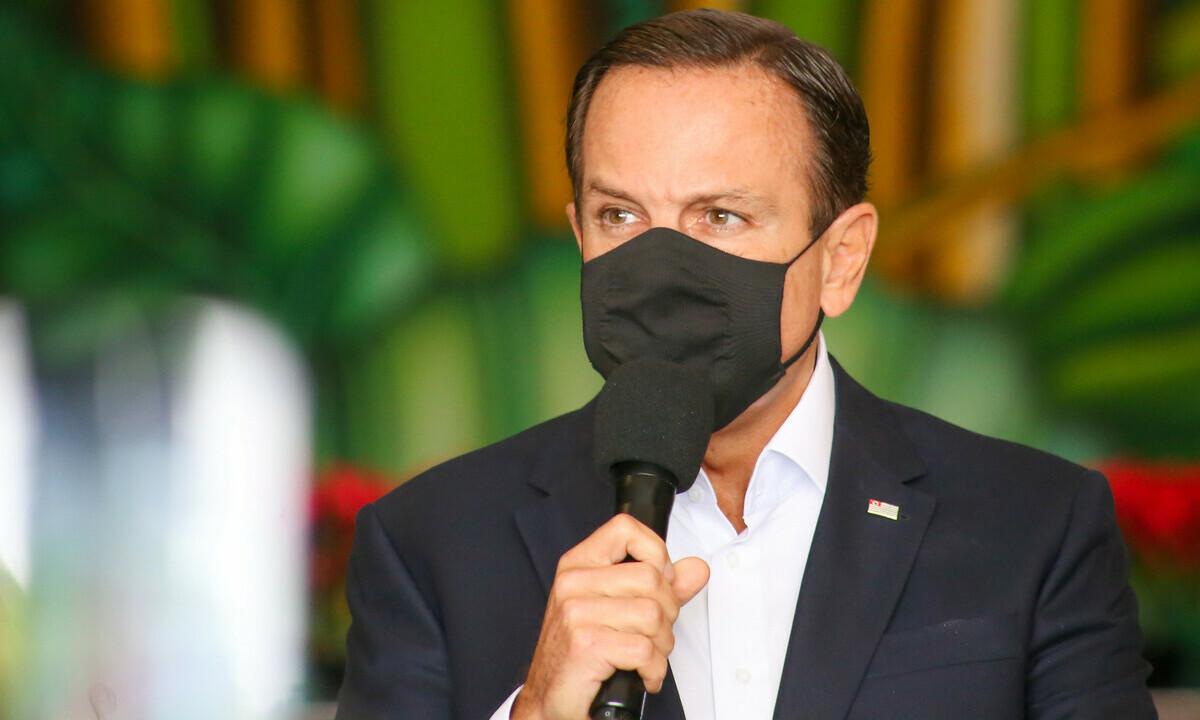 O governador João Doria (PSDB). Foto: GOVSP