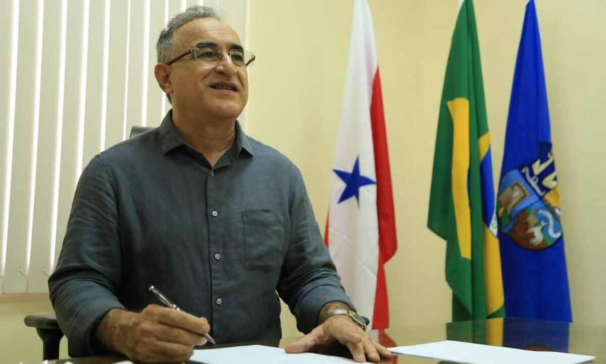 O prefeito de Belém, Edmilson Rodrigues (PSOL). Foto: Mácio Ferreira/Prefeitura de Belém