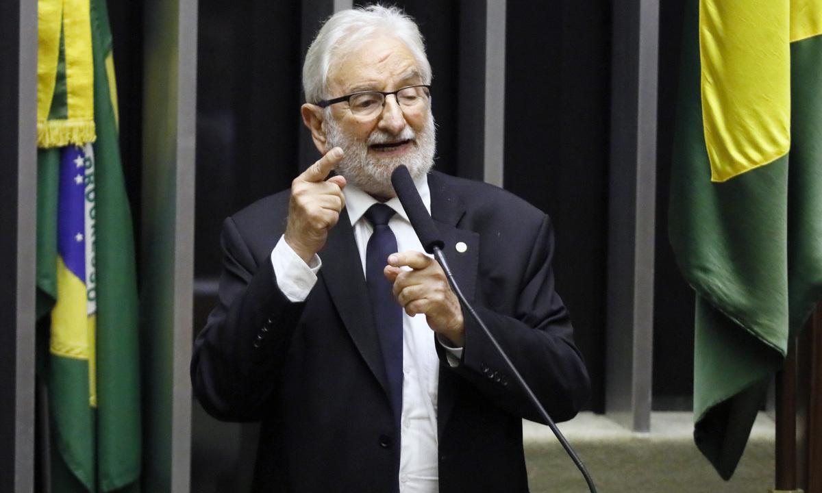 O deputado federal Ivan Valente (PSOL-SP). Foto: Luis Macedo/Câmara dos Deputados