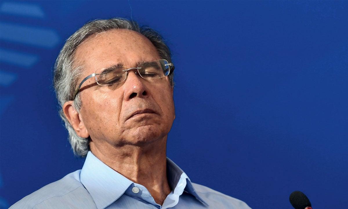 O ministro da Economia Paulo Guedes. Foto: Evaristo Sá/AFP