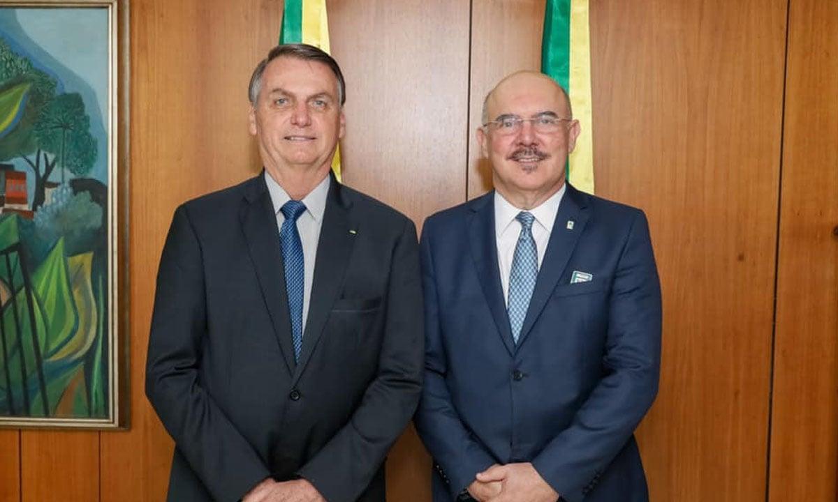 Jair Bolsonaro e Milton Ribeiro. Foto: Reprodução/Redes Sociais