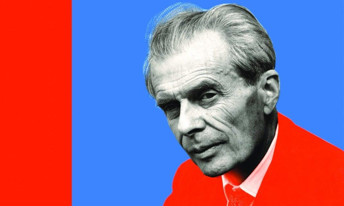 (Aldous Huxley ‡ Rome en 1963)