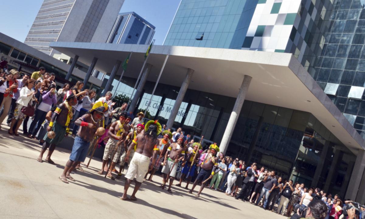 Inauguração de nova sede da Funai. Foto: Edison Bueno/Funai