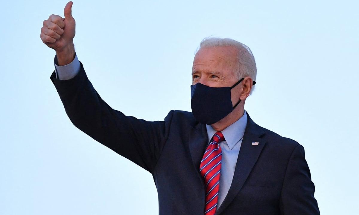 O Presidente dos EUA, Joe Biden. Foto: AFP.