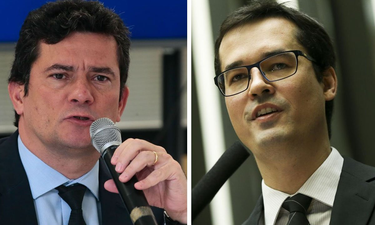 Sergio Moro e Deltan Dallagnol. Fotos: Antonio Cruz/Agência Brasil e Marcelo Camargo/Agência Brasil