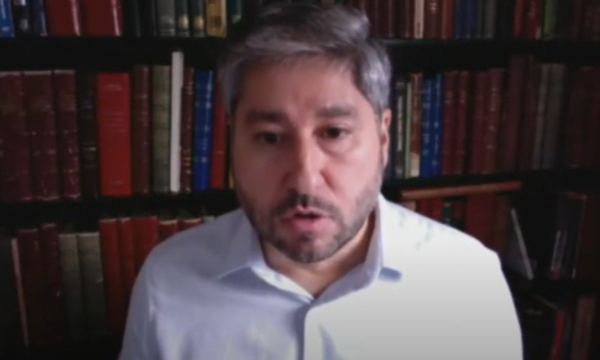 Deputado Fernando Cury dá depoimento em Comissão de Ética da Alesp (Foto: Reprodução/Alesp)