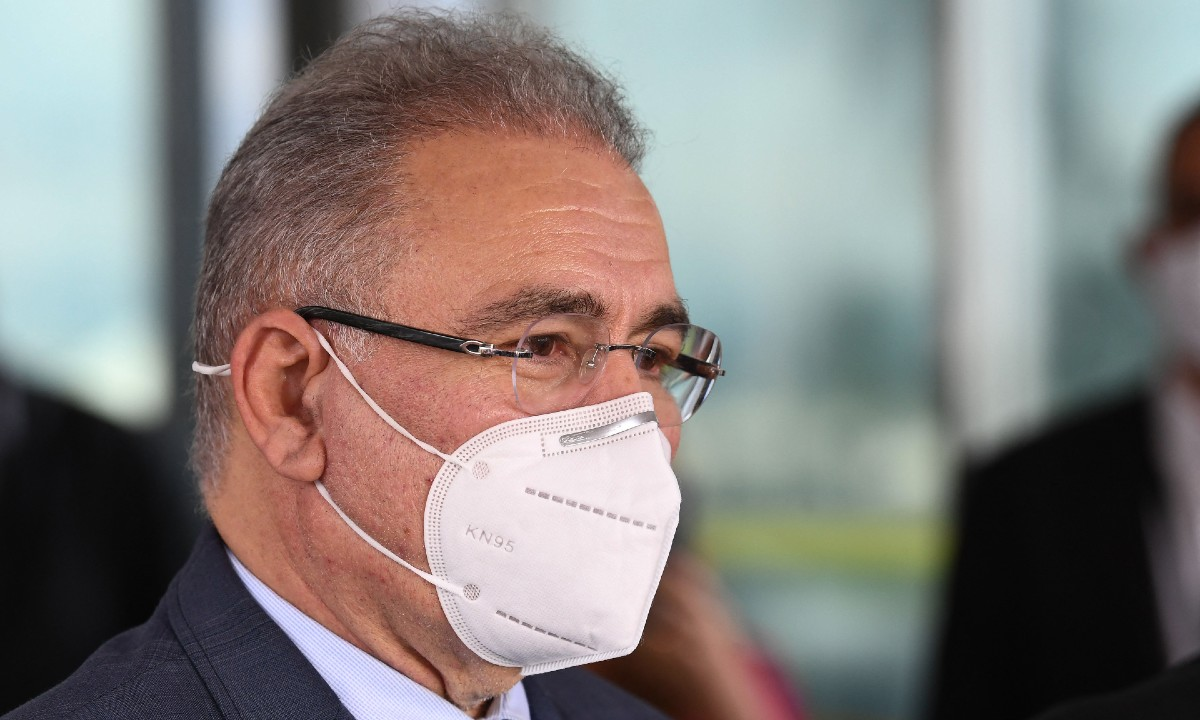 O ministro da Saúde, Marcelo Queiroga. Foto: EVARISTO SA/AFP