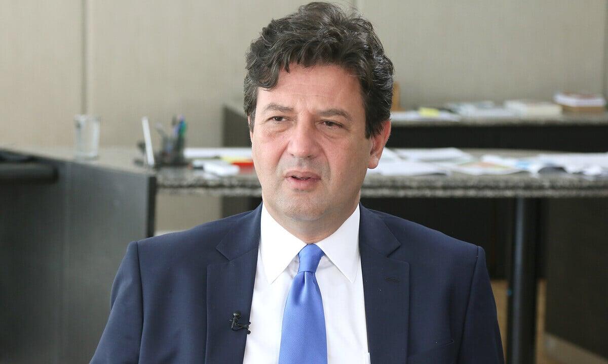 O ex-ministro da Saúde Luiz Henrique Mandetta. Foto: Erasmo Salomão/MS