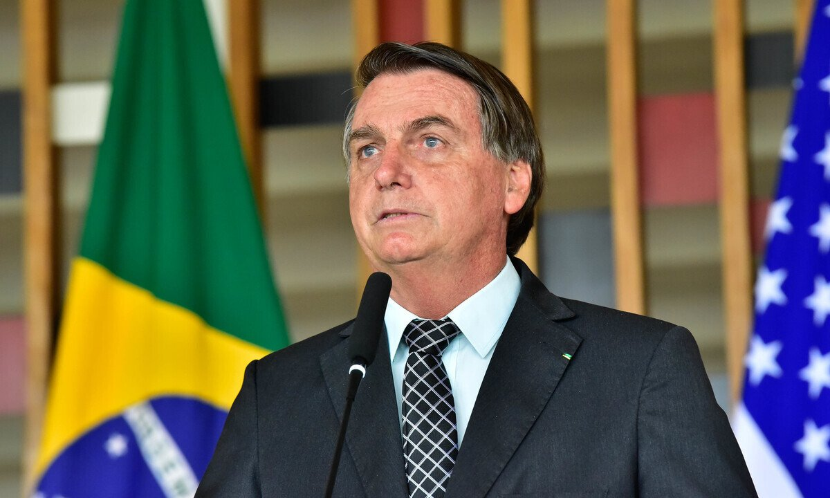 O presidente da República, Jair Bolsonaro. Foto: Gustavo Magalhães/MRE