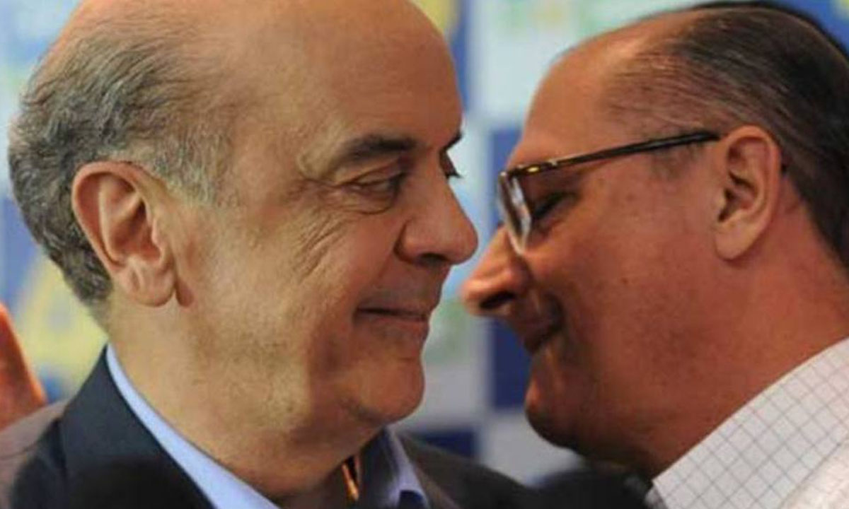 José Serra e Geraldo Alckmin. Foto: ?Fabio Rodrigues Pozzebom/AGÊNCIA BRASIL/Agência Brasil)