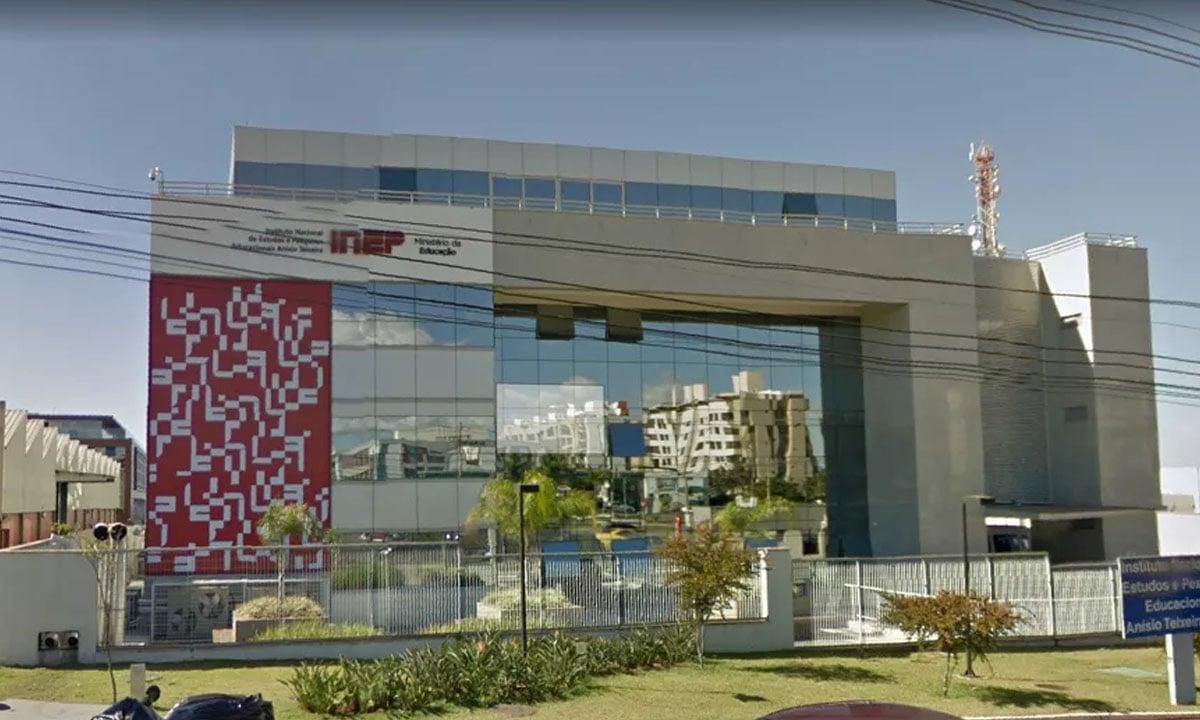 A sede do Inep, em Brasília. Foto: Reprodução