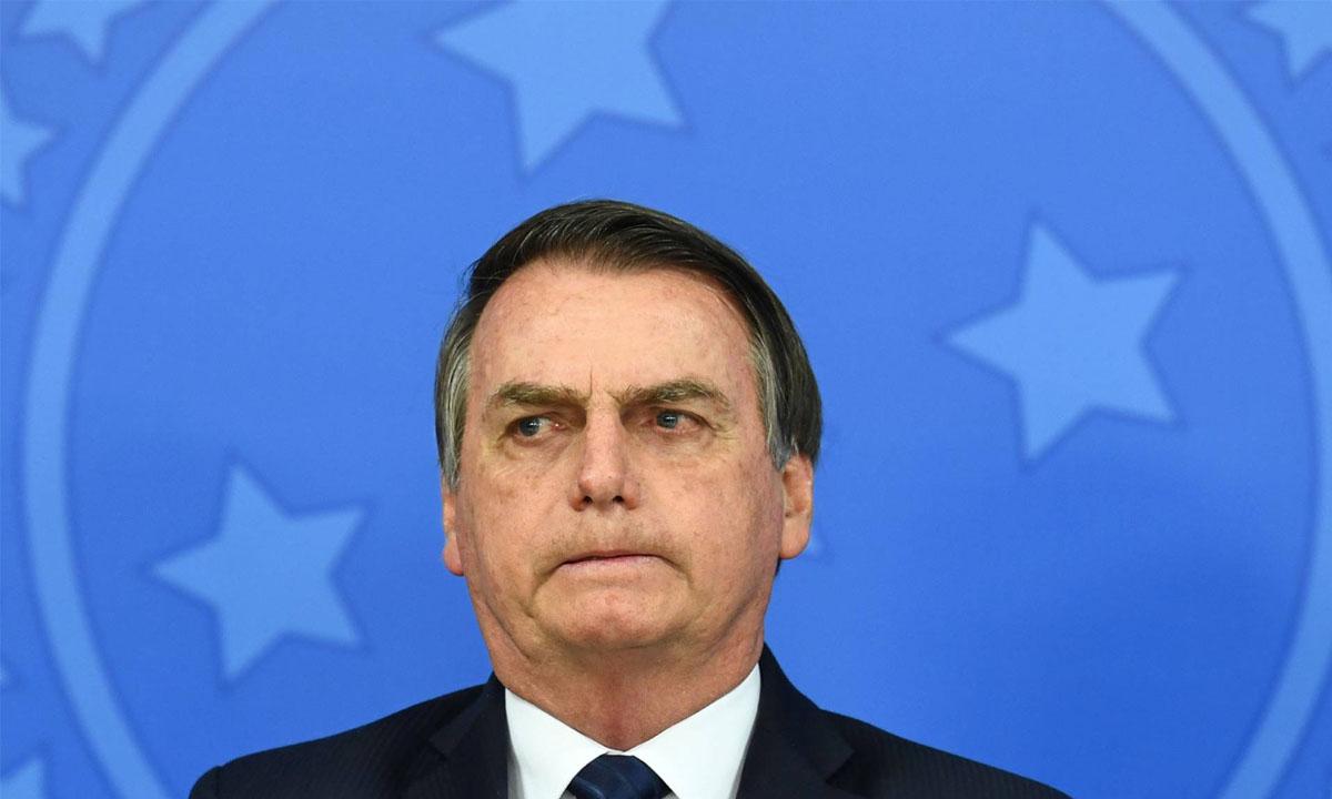 O presidente Jair Bolsonaro. Foto: AFP