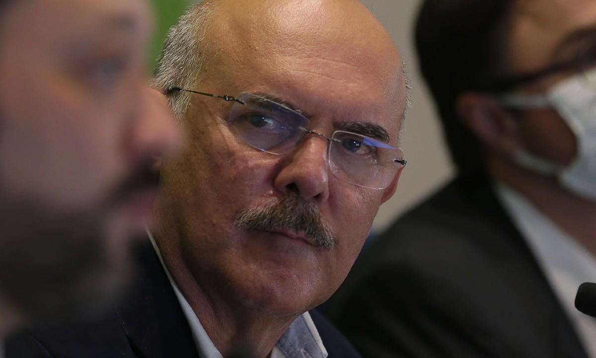 O Ministro da Educação, Milton Ribeiro (Foto: Marcello Casal Jr/Agência Brasil)