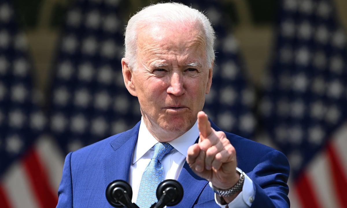 O presidente dos Estados Unidos, Joe Biden. Foto: Brendan Smialowski/AFP