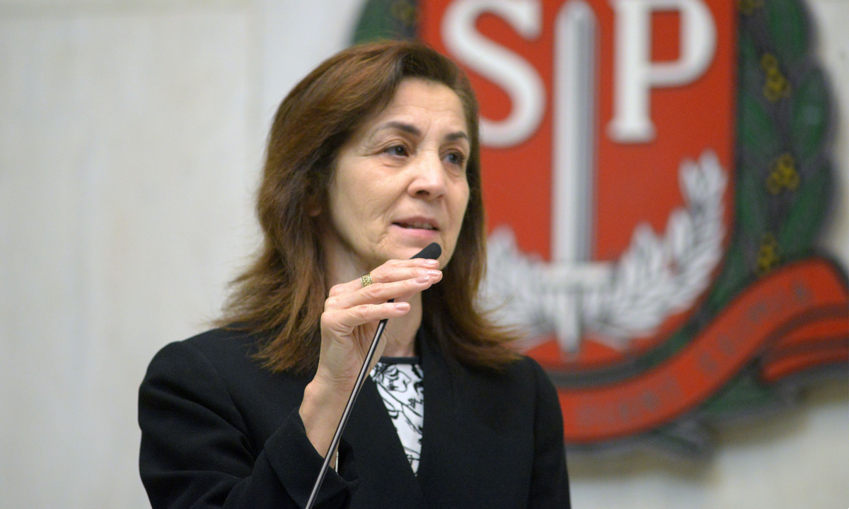 Deputada estadual Marta Costa (PSD), autora do projeto. Foto: Alesp.