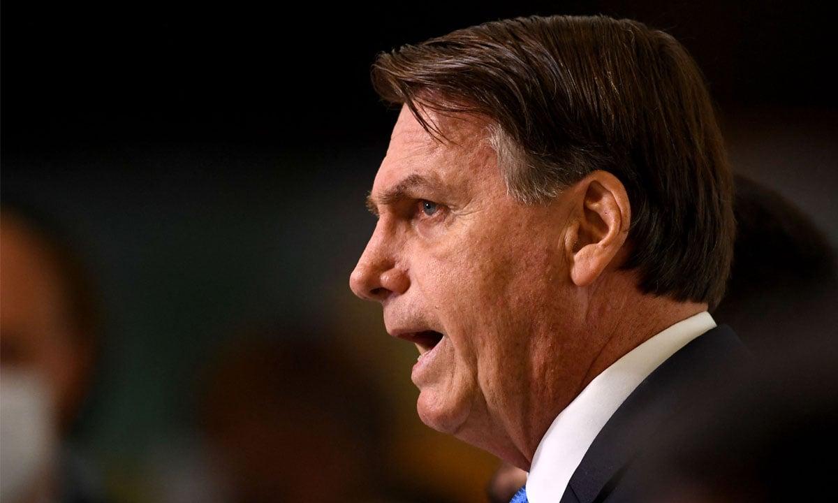 O presidente Jair Bolsonaro. Foto: Evaristo Sá/AFP