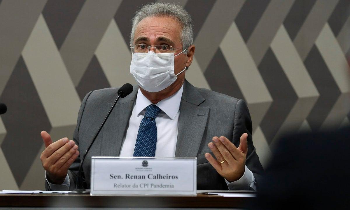 O senador Renan Calheiros. Foto: Edilson Rodrigues/Agência Senado