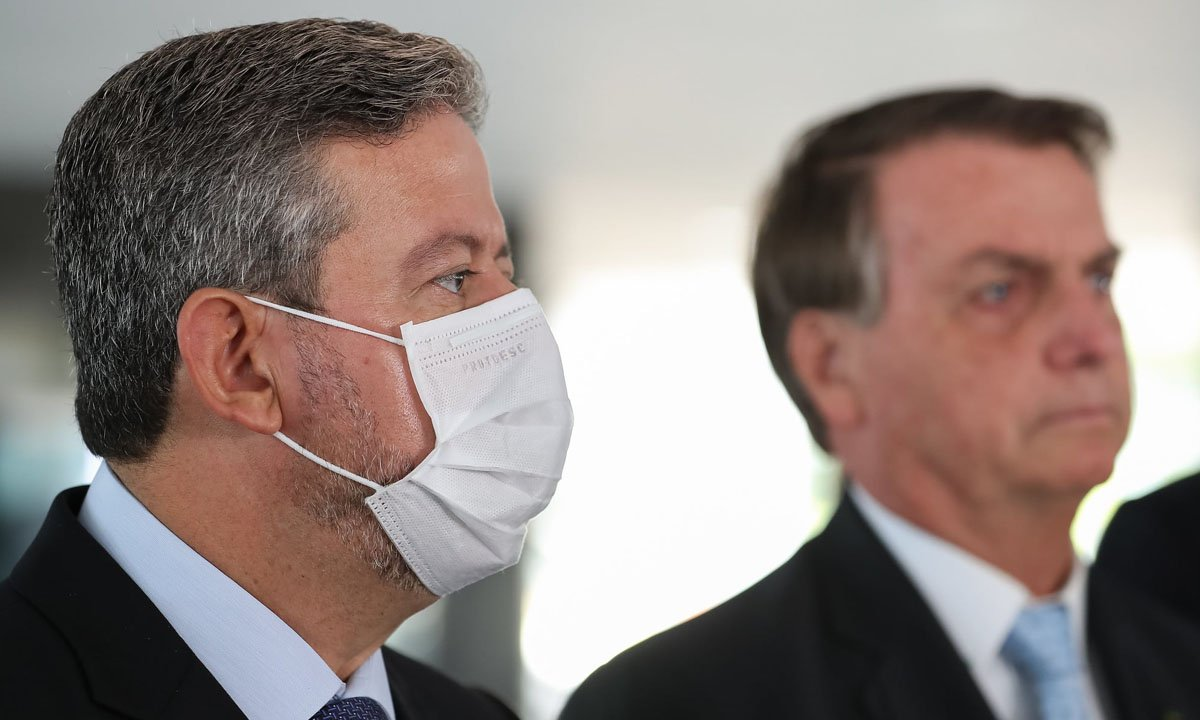 Arthur Lira e Jair Bolsonaro. Foto: Marcos Corrêa/PR