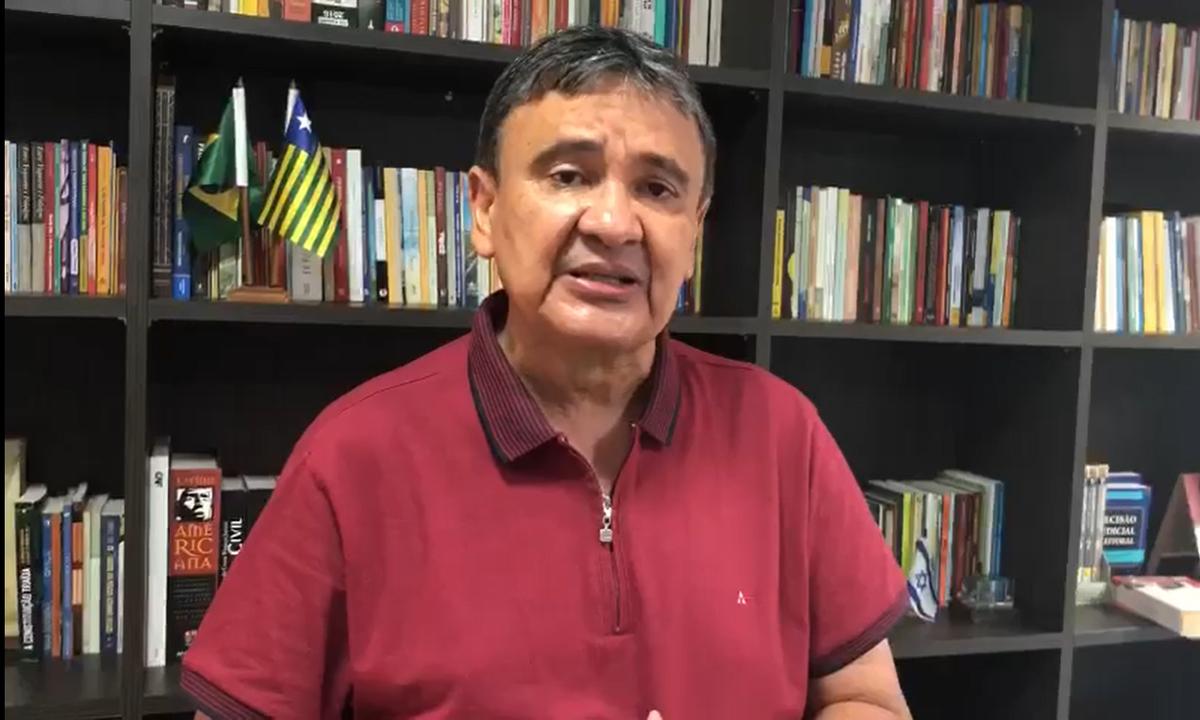 O governador do Piauí, Wellington Dias (PT). Foto: Reprodução