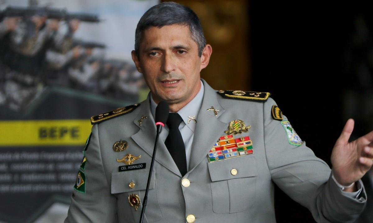 O diretor da Força Nacional de Segurança Pública, Antônio Aginaldo de Oliveira (Foto: Wilson Dias/Agência Brasil)