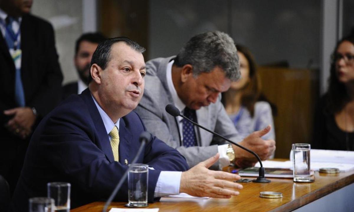 O senador Omar Aziz. Foto: Edilson Rodrigues/Agência Senado